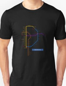 Manila Metro Map T-Shirt