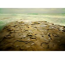 Low Tide Pools Photographic Print