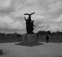 polish memorial by michael jewkes