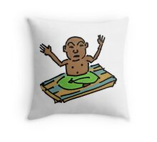 Baby Buddha Throw Pillow