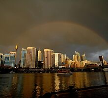 Rainbow Over Sydney, Australia 2010 by muz2142