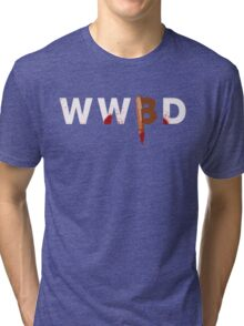 What Would Buffy Do Tri-blend T-Shirt