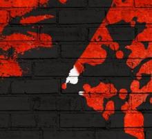 Kevfitti Black T-Shirt Sticker
