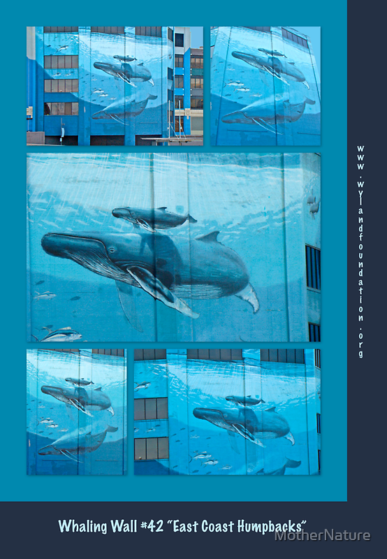 """Whaling Wall #42  """"East Coast Humpbacks"""" - Original Painting by Wyland by MotherNature"""