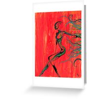 Tendrils Greeting Card