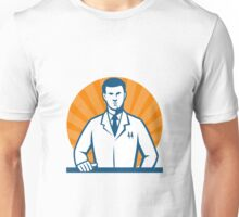 Scientist Facing Front Unisex T-Shirt