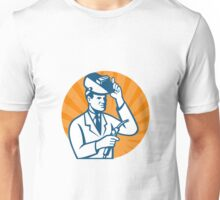 Scientist with Welder and Visor Unisex T-Shirt
