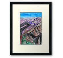 Battleship Mesa Framed Print