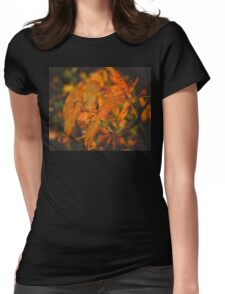 Autumn Tree Branches 2 Womens Fitted T-Shirt