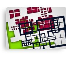 Building Blocks 2 Canvas Print