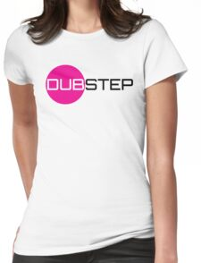 Dubstep (circle) Womens Fitted T-Shirt