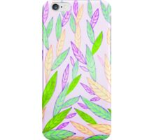 Fresh leaves. iPhone Case/Skin