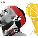 Lebron James First Ever Title by Mrbeckford