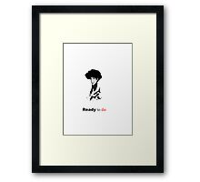 The Notorious Spike - Ready to die  Framed Print