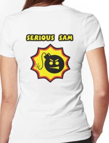 Serious Sam Replica T-Shirt  Womens Fitted T-Shirt