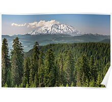 Mount Saint Helens from McClellan Overlook Poster