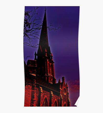 An awe-inspiring Cathedral Poster