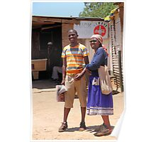 Couple in Soweto Poster