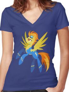Spitfire Women's Fitted V-Neck T-Shirt