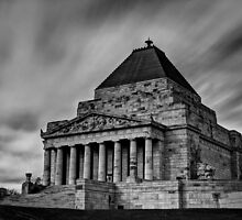 Shrine of Remembrance by Anthony Cook