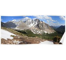 Above Highwood Pass II (panorama) Poster
