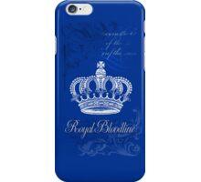 Royal Bloodline Blue iPhone Case/Skin