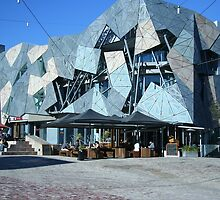 Federation Square by Maggie Hegarty