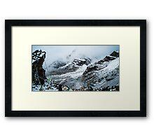 Himalaya Glacier Framed Print