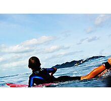 Fijian Surfer Photographic Print