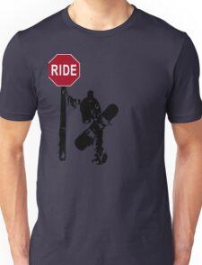 snowboard : directions? Unisex T-Shirt