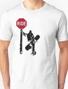 snowboard : directions? T-Shirt