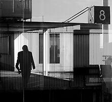 Inside/outside-airport by David  Walker
