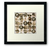 Noosa - Antiqued Framed Print