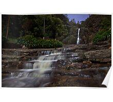 Waterful Gully at Half Moon Poster