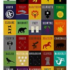 Game of Thrones House Sigils by iamthevale