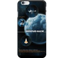 Moonraker - Movie Poster iPhone Case/Skin