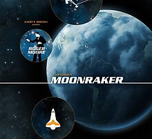 Moonraker - Movie Poster by 547Design