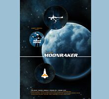 Moonraker - Movie Poster Unisex T-Shirt