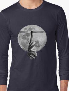 Sleeping Flying-Fox Long Sleeve T-Shirt