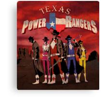Power Texas Rangers Canvas Print