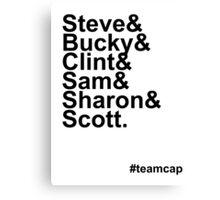 Team Captain Canvas Print