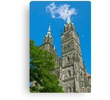 St. Lawrence Church in Nuremberg Canvas Print