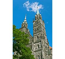 St. Lawrence Church in Nuremberg Photographic Print