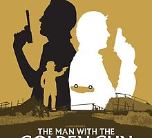 The Man with the Golden Gun - Movie Poster by 547Design