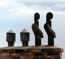 Chimneys by Hans Bax