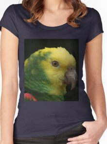 Colourful Women's Fitted Scoop T-Shirt