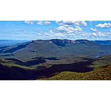 Shadows Over Mount Solitary Photographic Print