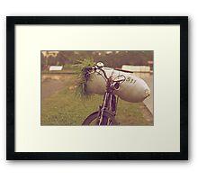 Bali Bike Framed Print