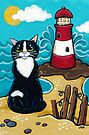 Lighthouse View by Lisa Marie Robinson