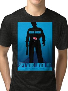 The Spy Who Loved Me - Movie Poster Tri-blend T-Shirt